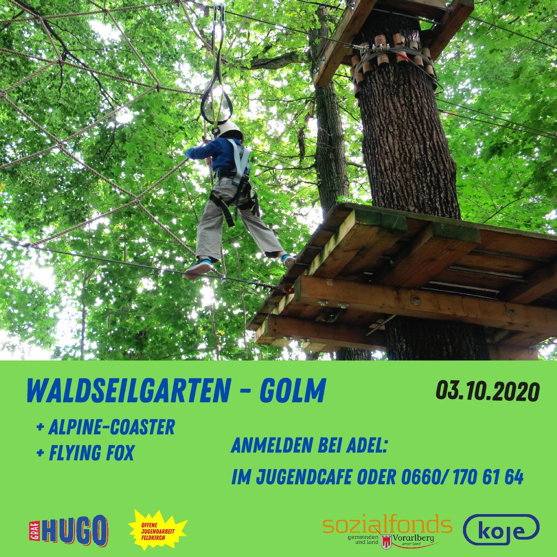 Outdoor-Tag Waldseilgarten Golm