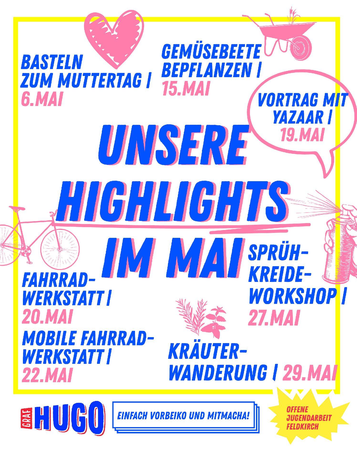 Unsere Highlights im Mai
