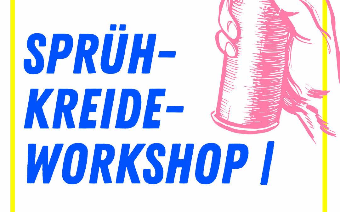 SPrühkreide-Workshop